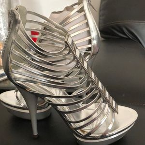 Liliana silver shoes